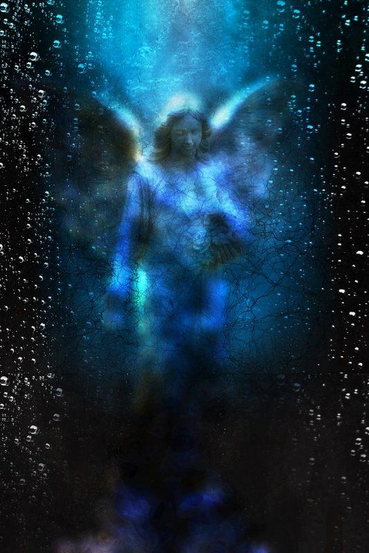 Dotik svetlobe in angeli
