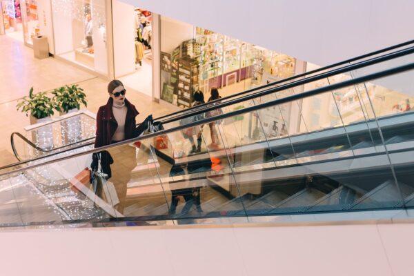 Moje sonce za zaščito v nakupovalnih centrih