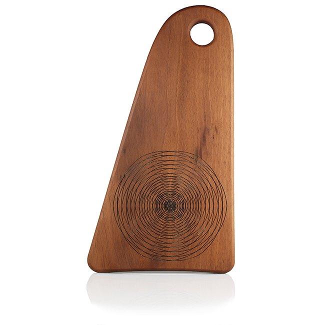lesena deska iz oreha mala