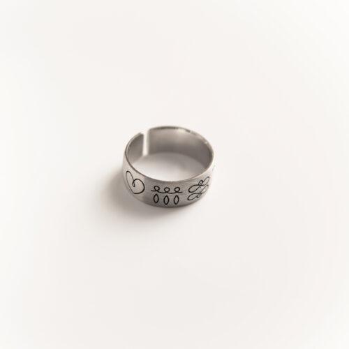 srebrni prstan
