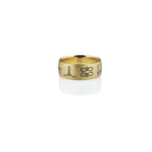 energijski prstan reumeno zlato